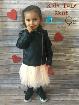 Kids Tulle Skirt by C'est Ça New York | #kidsfashion #tulleskirt