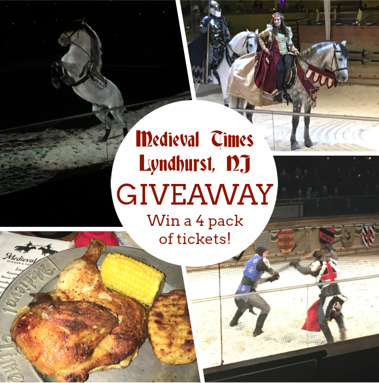 Enter to win a 4 pack of tickets to enjoy the new Medieval Times show at the Lyndhurst Castle in NJ! #giveaway #MedievalTimesNJ #AllHailtheQueen #MTFan