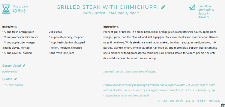 Weekly Meal Planning in Under 1 Minute | #TheDinnerDaily #mealplanning
