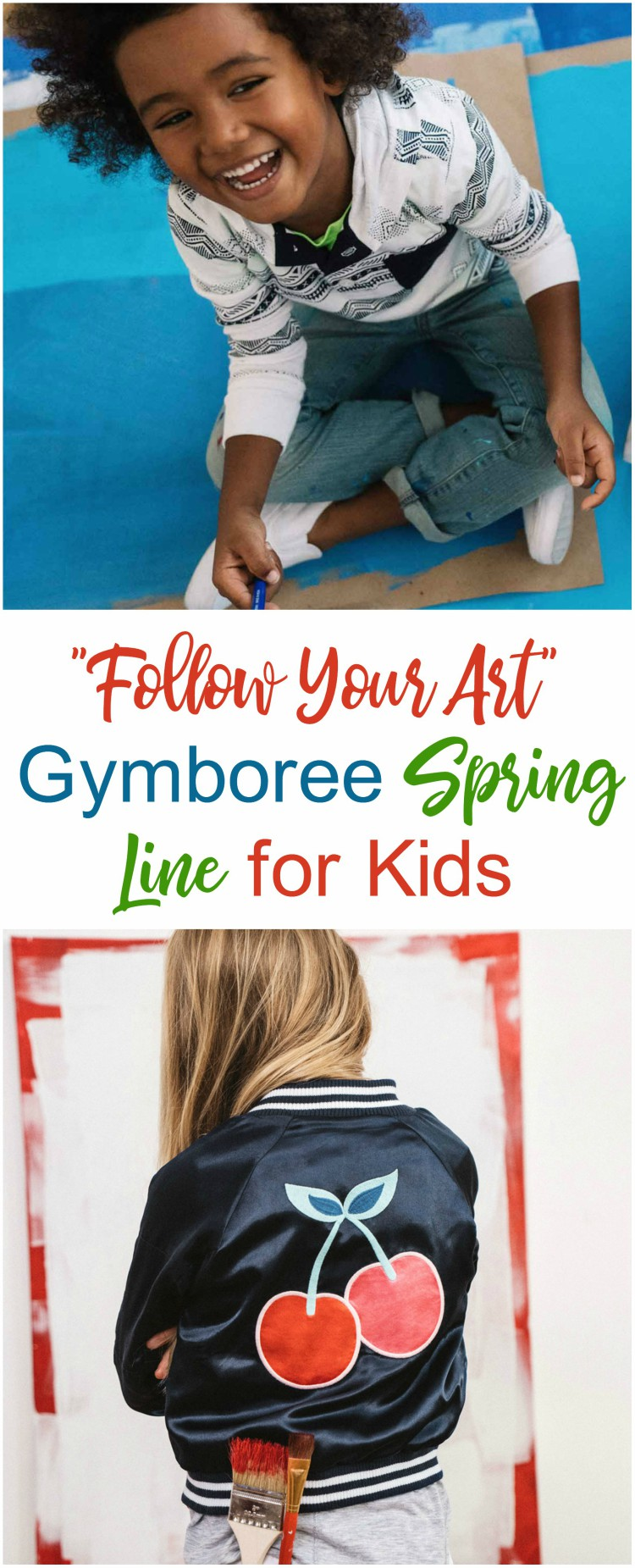 """Follow Your Art"" with Gymboree's Spring Line for Kids 