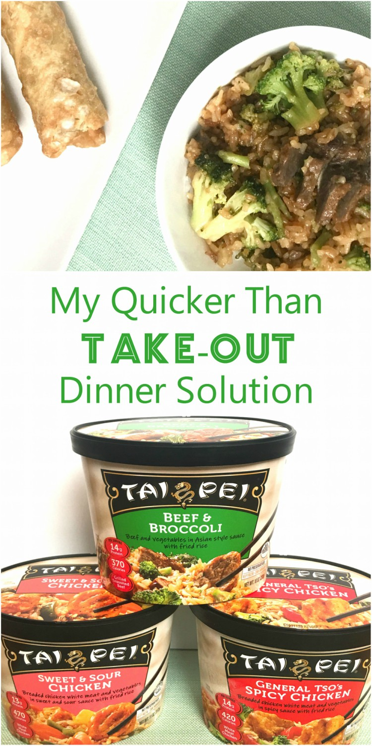 My Quicker Than Take-Out Dinner Solution | #ad #TaiPeiFrozenFood #IC