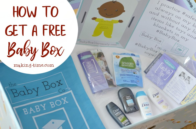 How to Get a Free Baby Box | #free #babybox #TheBabyBoxCo