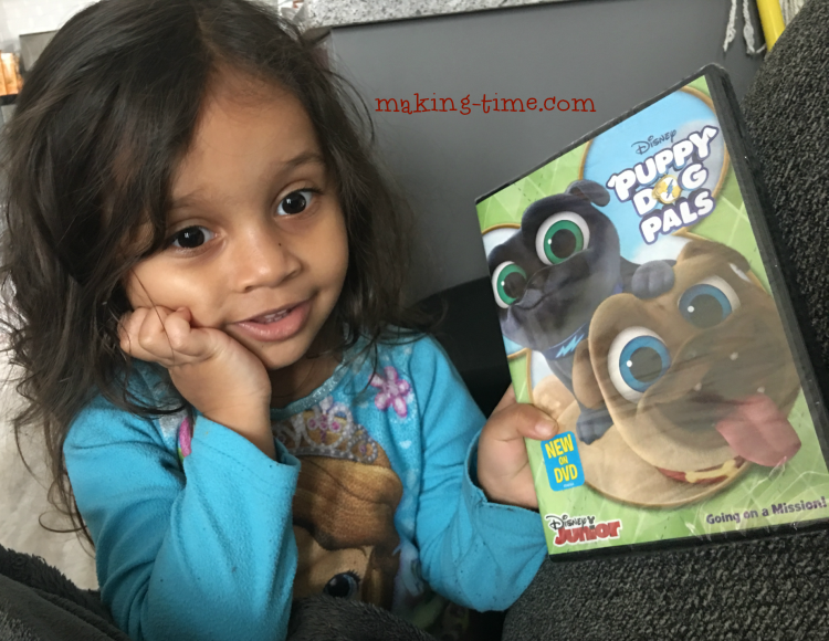 We're Going on a Mission with the Puppy Dog Pals   #PuppyDogPals #DisneyJunior #DVD