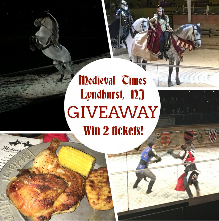 Enter to win 2 tickets to Medieval Times Lyndhurst, NJ! | #MothersDay #MedievalTimes #giveaway