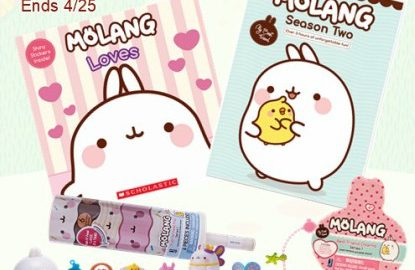 Enter to win a Molang Season 2 Prize Pack! | #giveaway #Molang #NCircleEntertainment
