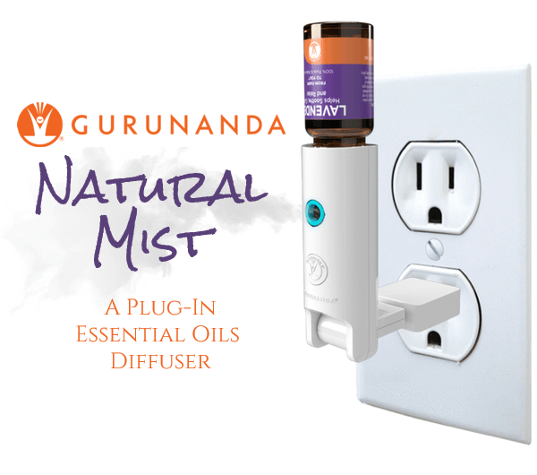 GuruNanda Natural Mist: A Plug-In Essential Oils Diffuser | #GuruNanda #essentialoils #diffuser #plugin