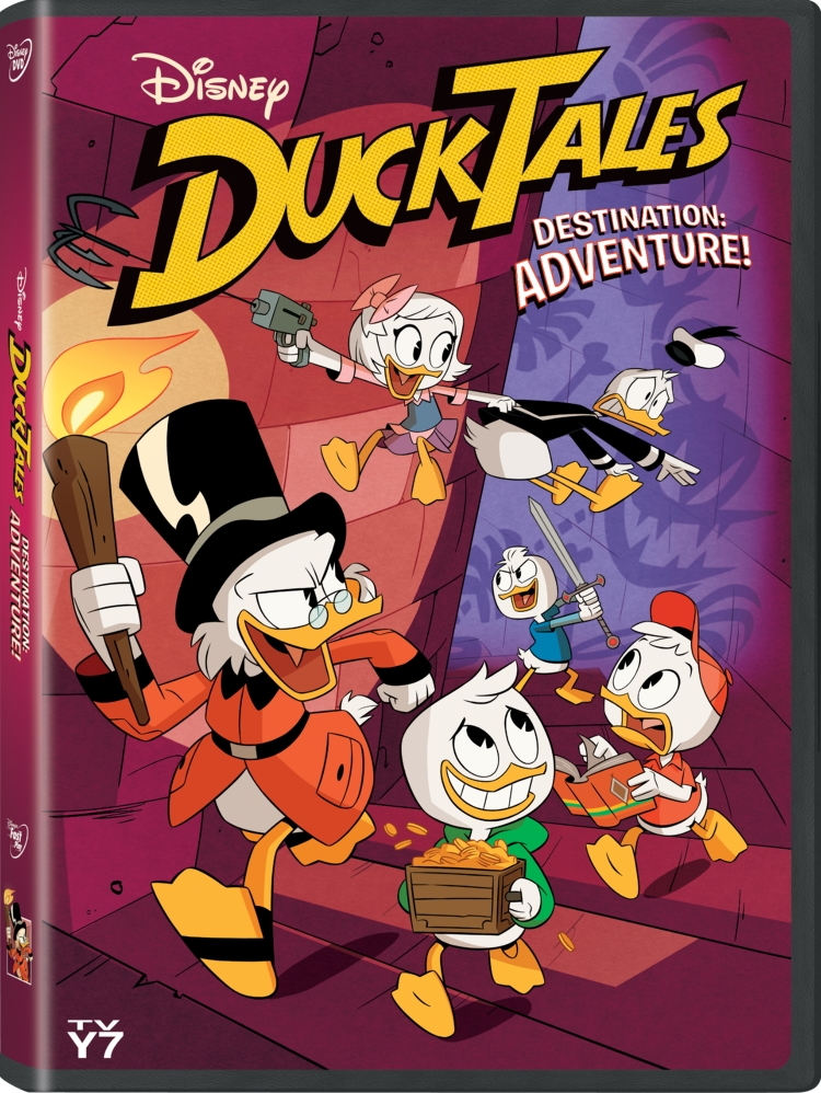 DuckTales Destination Adventure on DVD Woo-oo! | #DuckTales #Disney #DisneyXD