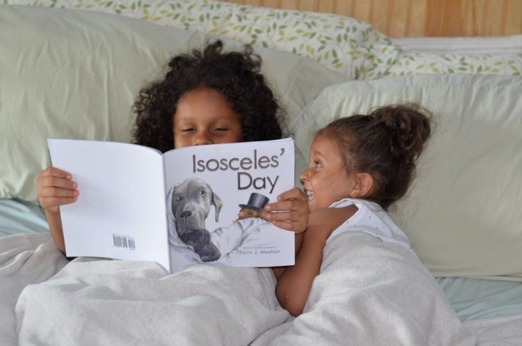 You Can't Judge a Book By It's Cover - Isosceles' Day | #Isosceles'Day #childrensbook #petadoption