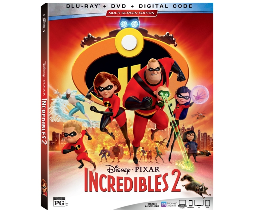 Incredibles 2 on Blu-ray + DVD + Digital | #Incredibles2 #DisneyPixar
