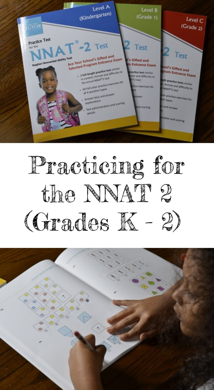 Practicing for the NNAT 2 (Grades K - 2) + Giveaway | #NNAT #TheTestTutor #giveaway