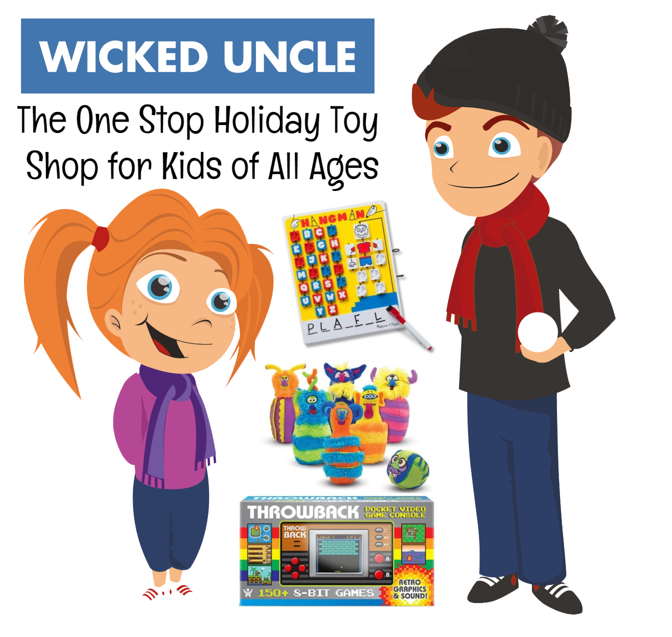 Wicked Uncle: The One Stop Holiday Toy Shop for Kids of All Ages | #WickedUncle #giftsforkids #giftideas #holidaygiftguide