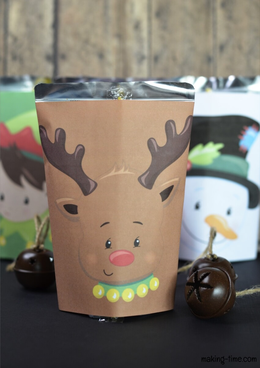 Christmas Juice Pouch Printables | #DIY #juicepouch #Christmas #freeprintable