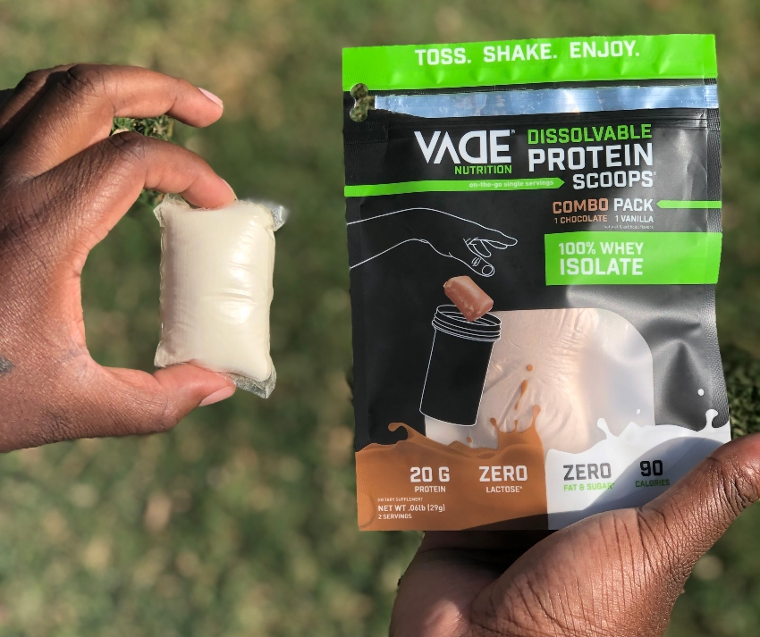 Dissolvable On-the-Go Protein Pods ~ #VADENutrition #proteinpods