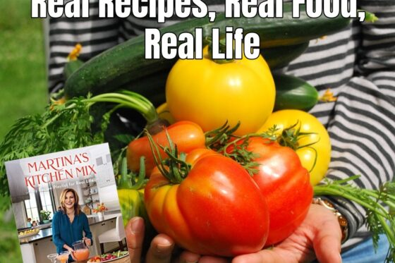 Real Recipes, Real Food, Real Life + Giveaway ~ #MartinaMcBride #cookbook #giveaway