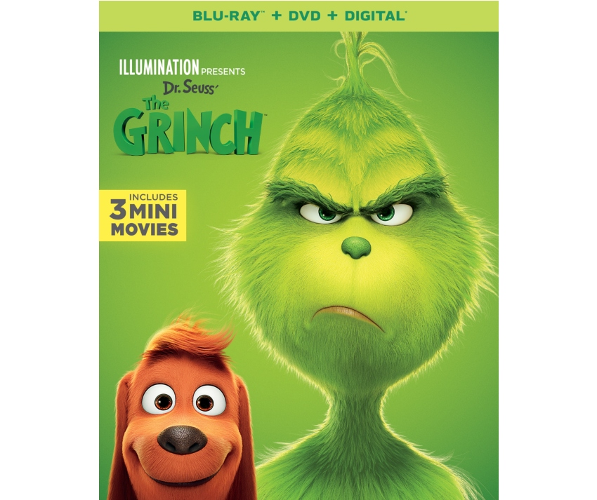 "Illumination's ""Dr. Seuss' The Grinch"" Hits Blu-ray + DVD + Digital ~ #TheGrinch"