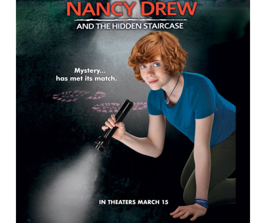 Nancy Drew and the Hidden Staircase Swag Pack Giveaway ~ #NancyDrew #TheHiddenStaircase #giveaway