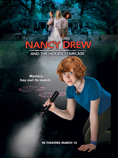 Nancy Drew and the Hidden Staircase Swag Pack Giveaway ~ #NancyDrew #TheHiddenStaircase #giveaway #WarnerBros