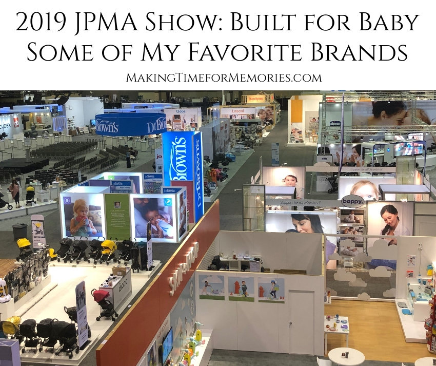 2019 JPMA Show: Built for Baby ~ Some of My Favorite Brands | #JPMAShow #babygear #Britax #BabyDelight #WonderFoldBaby #AngelMaternity #KidsEmbrace