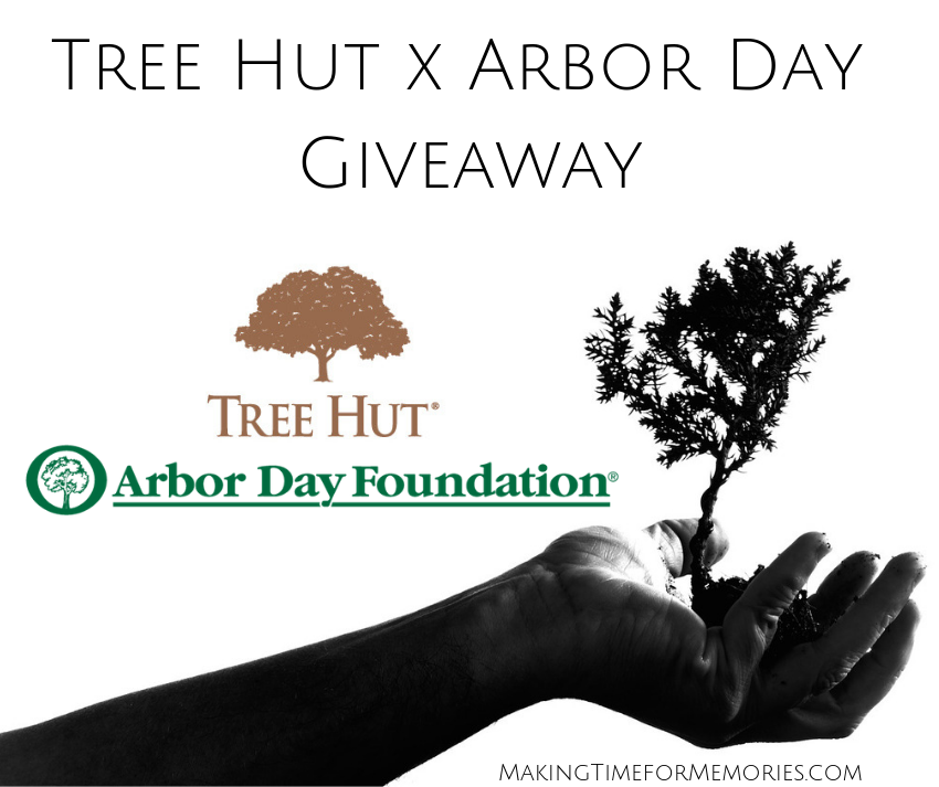 Tree Hut x Arbor Day Giveaway ~ #TreeHut #ArborDay #ArborDayFoundation #giveaway