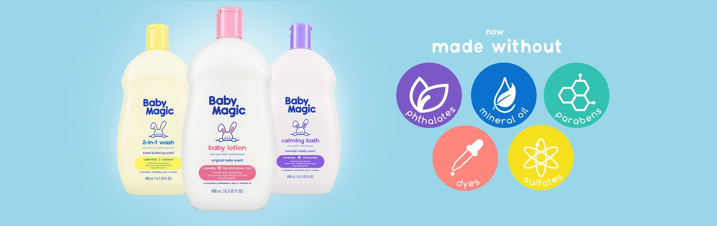 Iconic Baby Care Brand Gets a Makeover ~ #BabyMagic #babycare #babylove