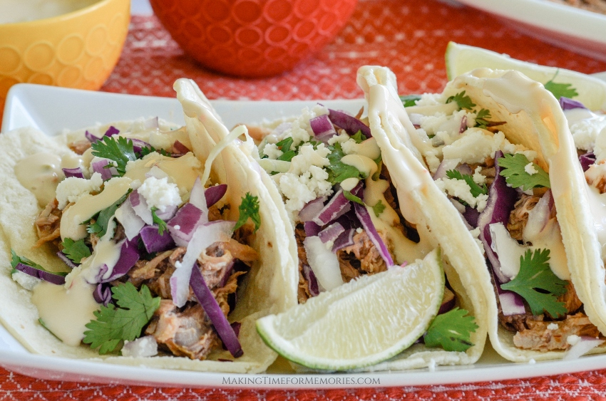 Low & Slow Pulled Pork Tacos ~ #lowandslow #pulledporktacos #recipe